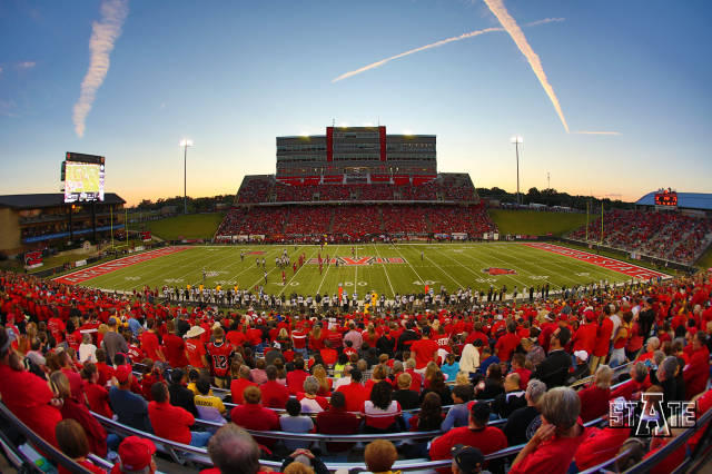 Centennial Bank Stadium in Jonesboro.