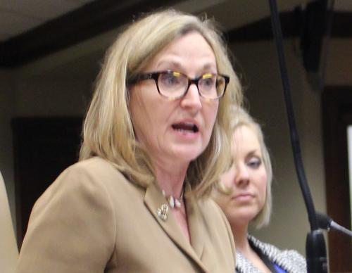 Ann Clemmer of the Arkansas Department of Higher Education