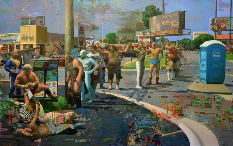 """Hands Across America"" by Robert McCann"