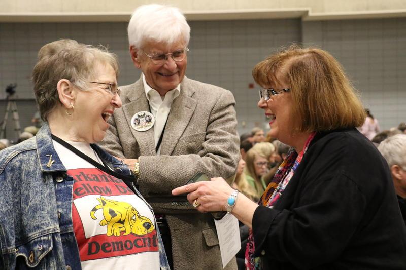 Jo Lindsey, State Sen. Uvalde Lindsey and Sheila Bronfman