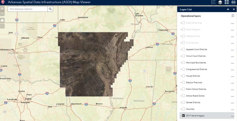 Arkansas Digital Mapping System
