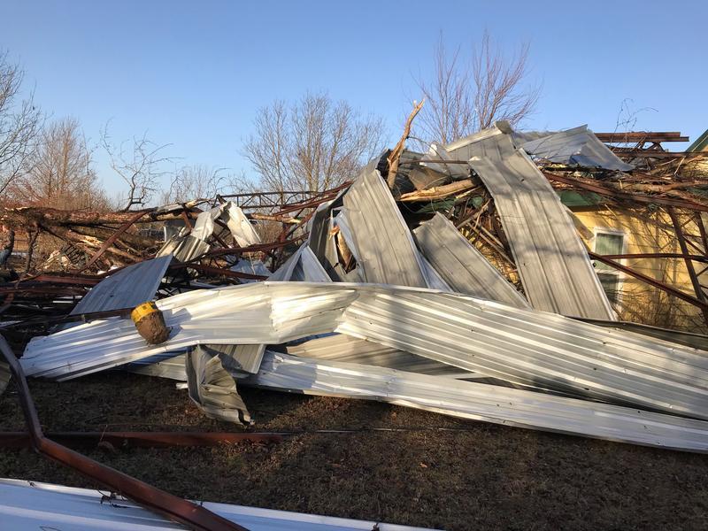 Tornado Faulkner County January 22, 2018
