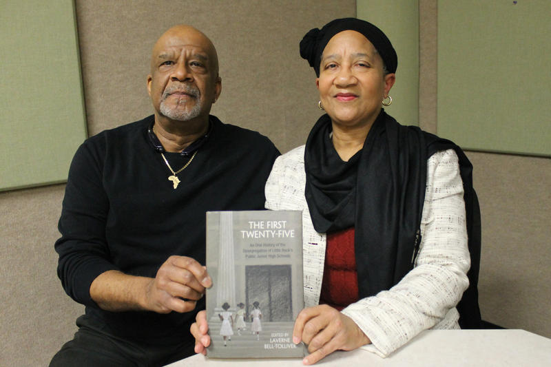 Dr. Kenneth Jones and and Dr. Laverne Bell-Tolliver were two of the 25 students who desegregated Little Rock's junior high schools in phase two of the school district's desegregation plan. Bell-Tolliver edited the book The First Twenty-Five, An Oral Histo