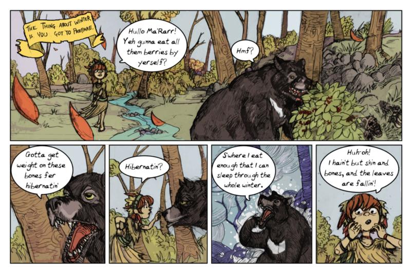 Ma'Rarr the bear