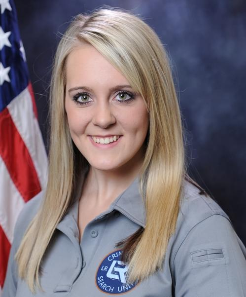 Little Rock Police Crime Scene Specialist Meagan Buchert