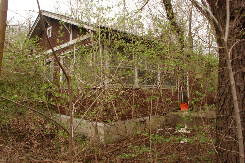 The abandoned house where the Florence Price papers were found.