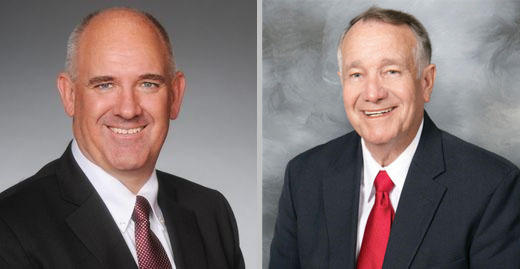 Rep. Mat Pitsch and former Rep. Frank Glidewell will face eachother in the Republican party runoff on Tuesday, June 19, 2018.