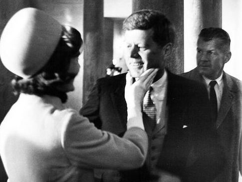 One of 120 images to be featured of President John F. Kennedy.