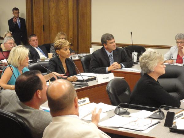 The chief operating officers for several community health centers at a legislative hearing Thursday.