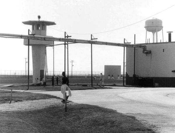 File photo of prison inmates inside Cummins Prison in southeast Arkansas.