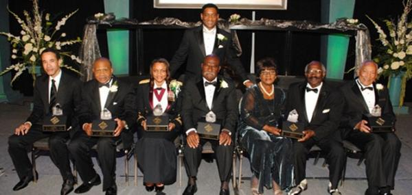 Last year's honorees.
