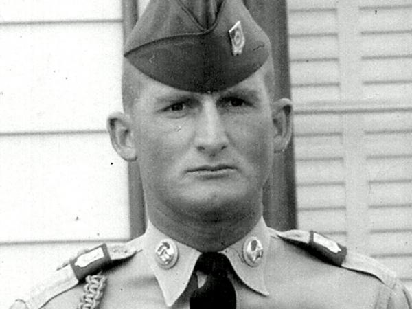 Army photo of Harold George Bennett, who the Perryville post office is being renamed for.