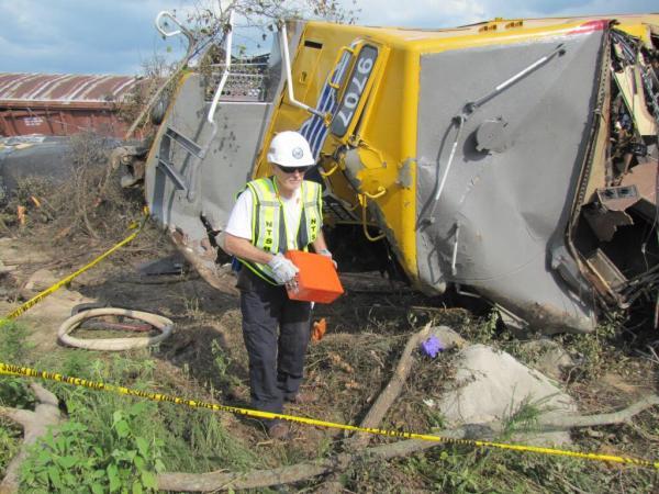 Union Pacific train crash hoxie