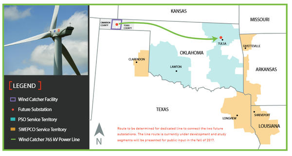 Wind Farms In Oklahoma Map.Arkansas Utility Announces Investment In Nation S Largest Wind Farm