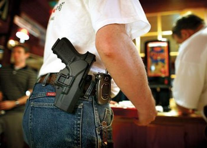 """an opinion that there is need for gun laws I have a very strict gun control policy: if there's a gun around, i want to be in   project """"guns in america"""" gun control group project opinions in the united."""