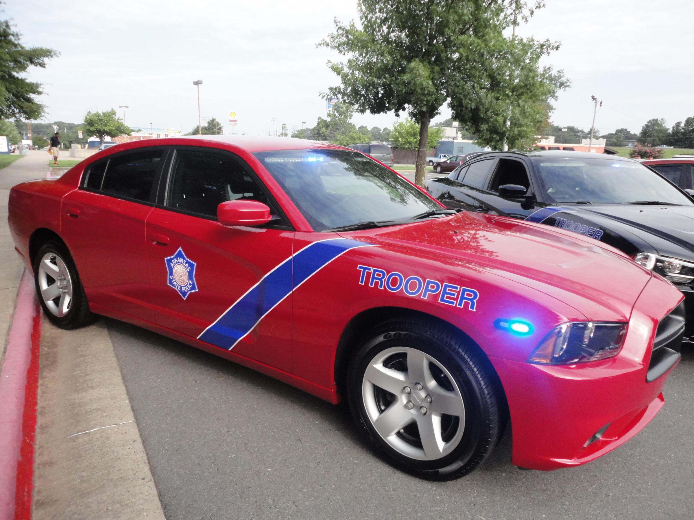new arkansas police cars have fewer markings to avoid detection kuar. Black Bedroom Furniture Sets. Home Design Ideas