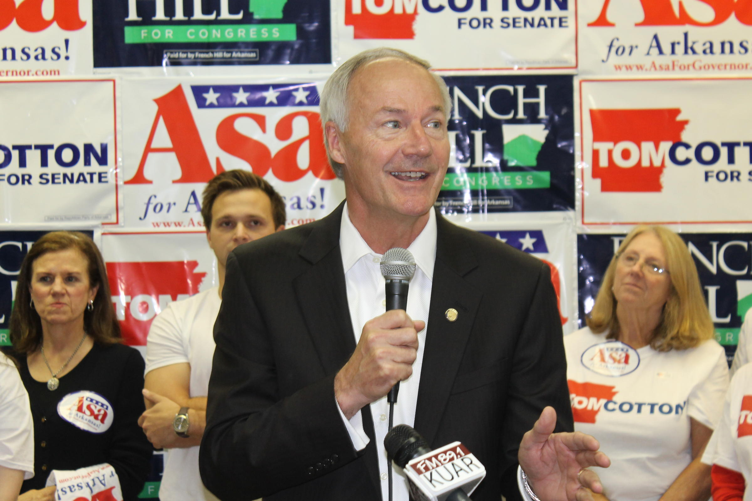 Arkansas Governor Asa Hutchinson announces run for second term