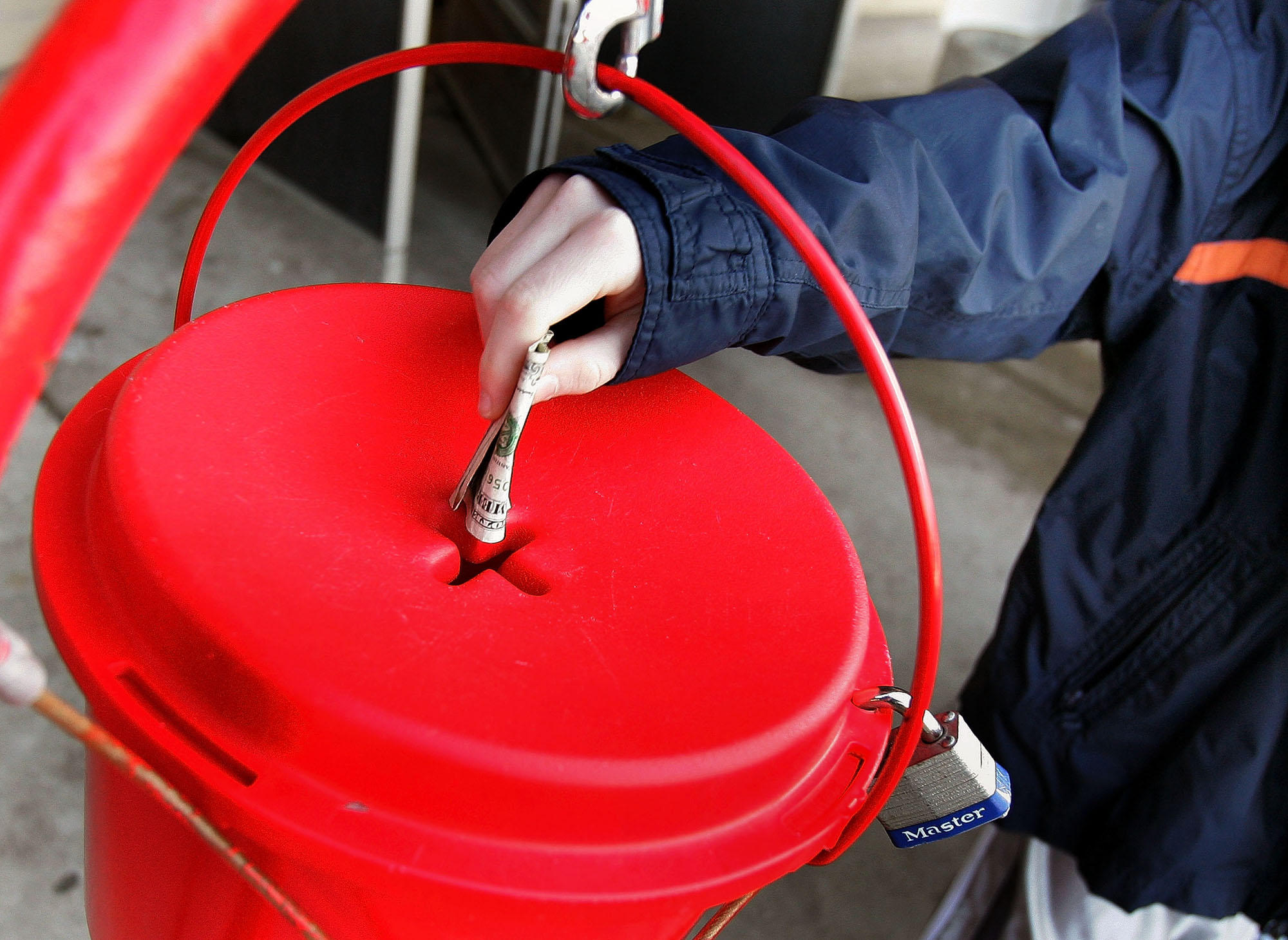 $1.2 donation dropped into Salvation Army kettle in Janesville