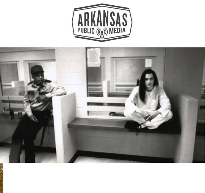 Damien Echols inside the Tucker Unit, a maximum security prison in Jefferson County, 1996.