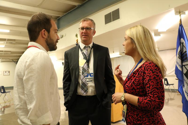 John Moritz, Sean Murphy and Marine Glisovic were the media witnesses.