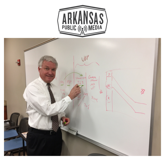 Joe Thompson is CEO of the Arkansas Center For Health Improvement