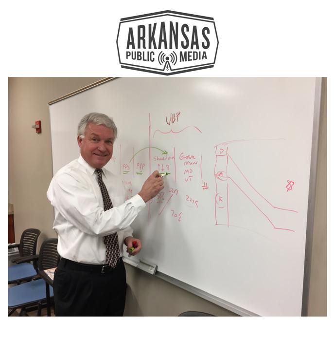 Joe Thompson is CEO of the Arkansas Center For Health Improvement