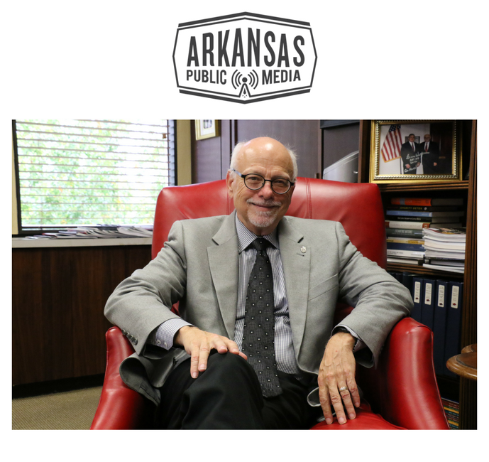 University of Arkansas Chancellor Joseph Steinmetz