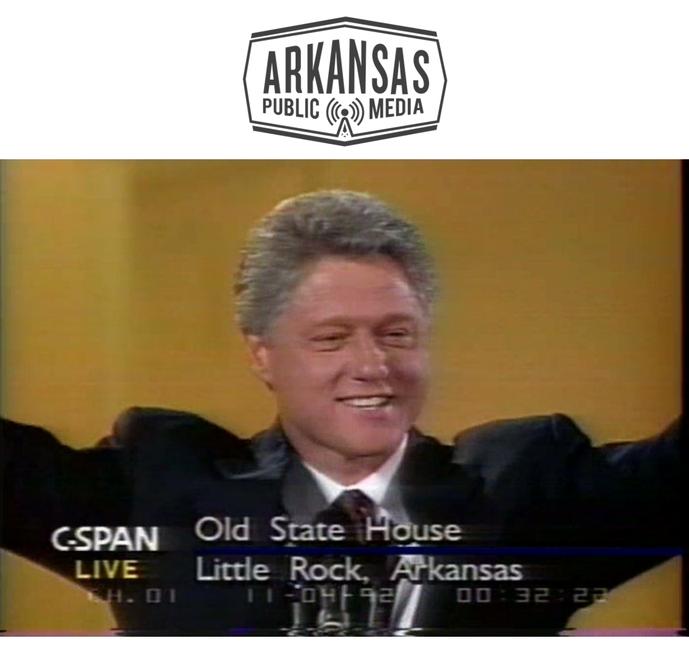 Bill Clinton on C-SPAN election night 1992