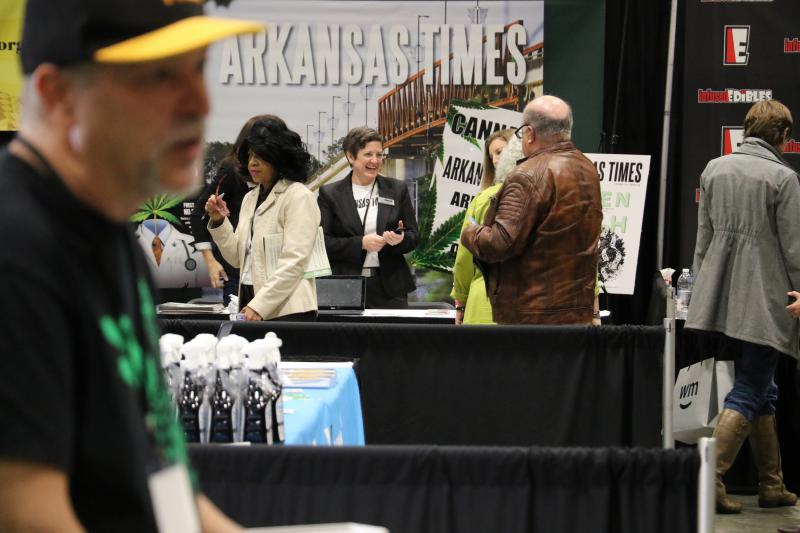 The Arkansas Times booth