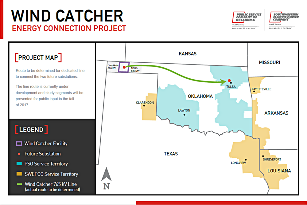 Map Of Texas Oklahoma And Louisiana.Oklahoma Wind Power Project To Be Biggest In Nation Push Supply To