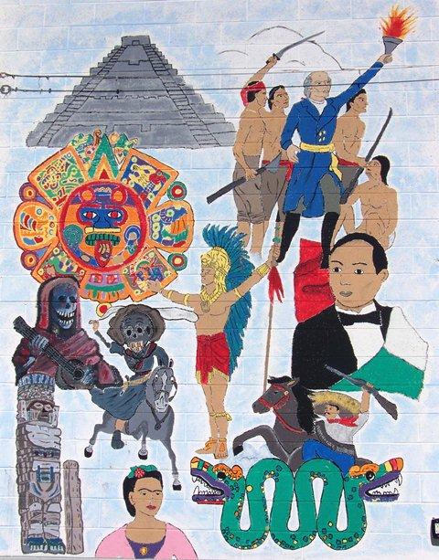 Salt lake city hispanic community activist frank cordova for Mural mexicano