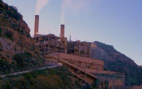 Carbon power plant