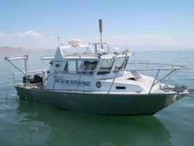 Great Salt Lake Ecosystem Management Boat
