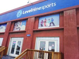 15,000 square foot retail space of Levelninesports.com. Find everything from GoPro brand to eyewear, bindings, boards, boots and head gear. All of it is the latest or current models at up to 70% off retail prices.