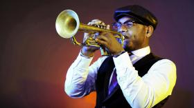 Trumpeter Etienne Charles' new album is called Creole Soul