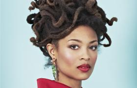 Valerie June's forthcoming album is Pushin' Against a Stone