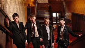 Glasgow rock group Franz Ferdinand prepares their newest album, nine years after the band's much-lauded debut.