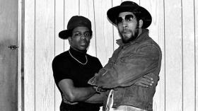 "Clive ""Cool Herc"" Campbell (right) is widely credited as a founder of the hip-hop movement."