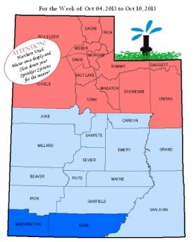 Updated Irrigation Chart from the Utah Division of Water Resources