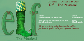 Elf the Musical at Pioneer Theater Company December 6th through the 24th, including Saturday matinees