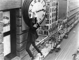 Harold Lloyd in the 1923 classic, Safety Last!
