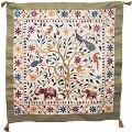 The Embroided Tree of Life is sold by Ten Thousand Villages for St. Mary's Mahila Shikshan Kendra in India.