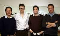 L-R: Doug Fabrizio, Ira Glass, Chris Wilcha and Adam Beckman