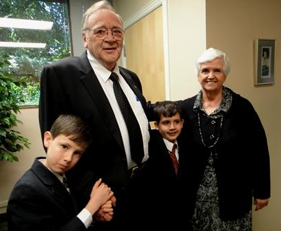 Jack and Martha Brown of Sandy became legal guardians for their grandsons Jordan and Austin 2 years ago.