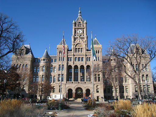 Salt Lake City County Building Photo