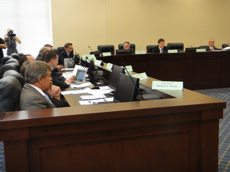 Business and Labor Interim Committee hearing testimony on Alcoholic Beverage Control Act Amendments.