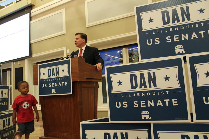 Dan Liljenquist gives his concession speech.