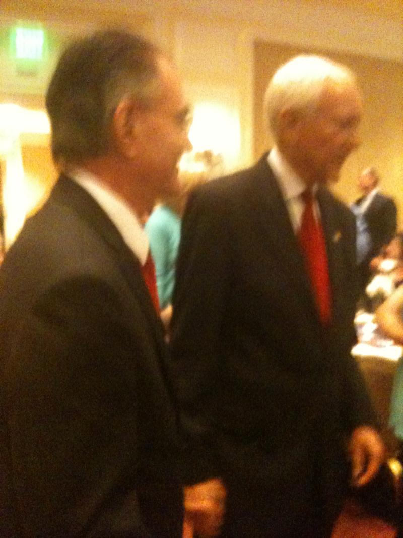 Senator Orrin Hatch at his election night party.