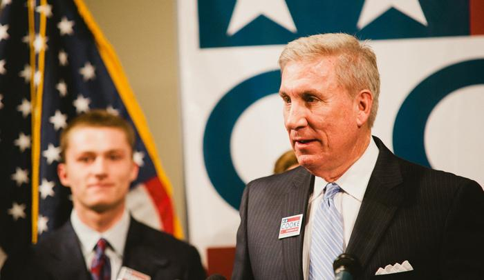 File: Democratic Gubernatorial Candidate Peter Cooke
