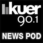 KUER News Pod Logo